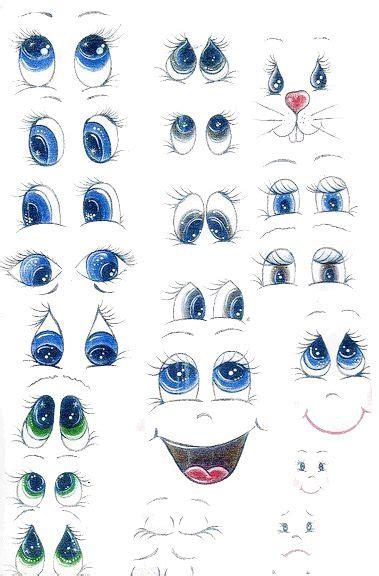 moldes de ojos ojos de fofuchas para imprimir fofuchas y goma eva