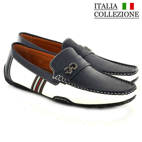 mens designer loafers mens designer loafers leather look italian driving shoes