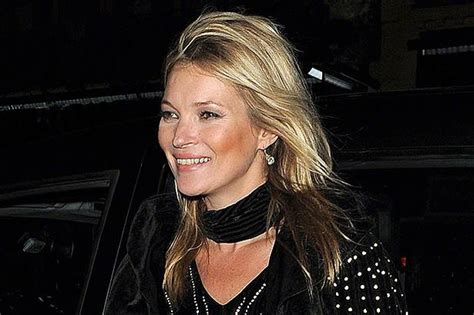 Kate Moss Arrives Home To Continue 34 Hour Marathon Birthday by Kate Moss Reveals The Only Person She Takes Fashion Advice