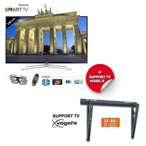 samsung tv support samsung ue50h6400 smart tv 127 cm support mural samsung pickture