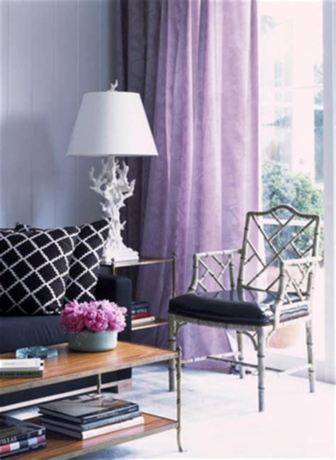 Black White And Purple Curtains Purple Curtains Ikea Home Garden Design