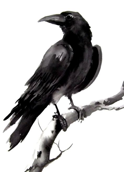 black crow tattoo images designs