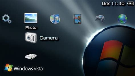 psp themes how windows vista v2 psp theme psp themes