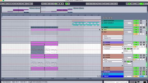 Ableton Live Dubstep Template Project Monstercat Pegboard Nerds Borgore Style Remake Fusion Ableton Dubstep Template