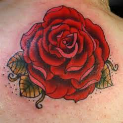 traditional rose tattoo by aireelle on deviantart
