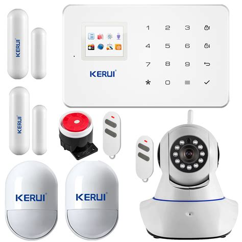 gsm alarm sms alarm system home security alarm touch