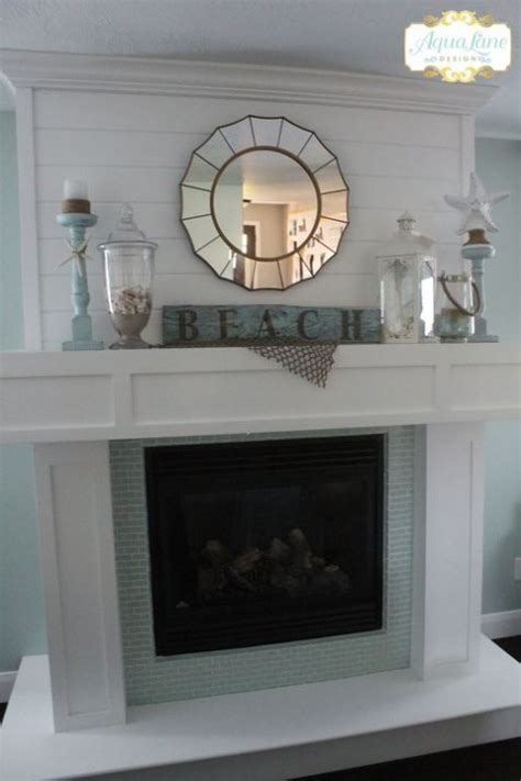 beautiful beach mantle decor ideas comfydwellingcom