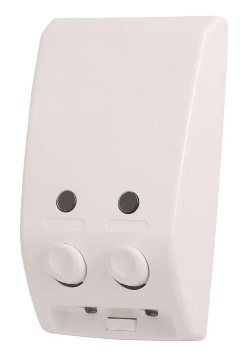 Soap Dispenser 400ml Single White small bulk fill soap dispensers 400ml to 600ml