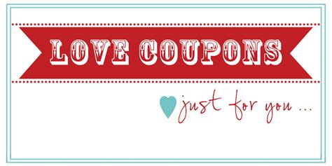 printable love coupon book template make the best of your nest valentine coupon book free