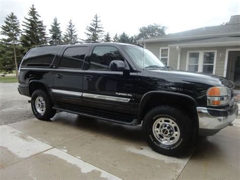 automobile air conditioning repair 2001 gmc yukon electronic valve timing find used 2001 gmc yukon xl 2500 slt sport utility 4 door 6 0l in watertown wisconsin united