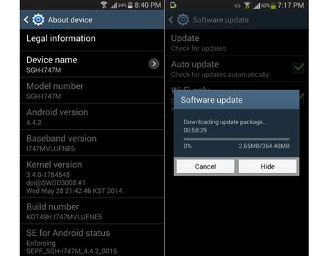 themes for rooted android 4 4 2 android 4 4 2 now arriving on galaxy note 2 and galaxy s