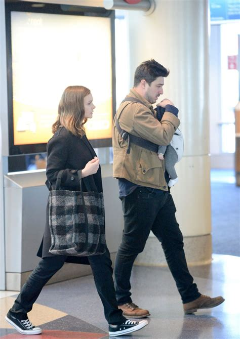 Carey At The Airport by Carey Mulligan Arrives At Los Angeles International