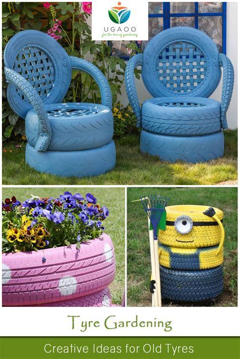garden decoration with tyres 25 unique tyre garden ideas on tire garden
