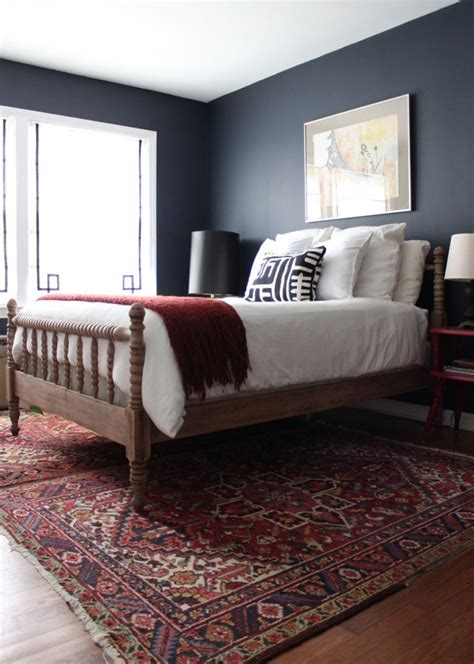 guest bedroom paint progress how to nest for less paint color with this oriental rug