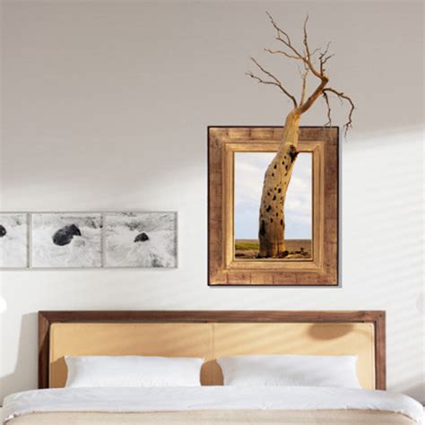 Home Decor 3d 3d Tree Wall Decals Removable Tree Trunk Wall Stickers