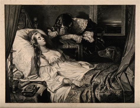 Drawing Of A Bed File A Young Man Weeps In Grief By The Death Bed Of A