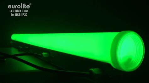 Lu Neon 40 Watt eurolite led dmx 1m rgb ip20