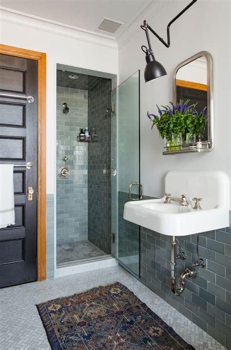 prospect park bathrooms trend alert vintage rugs in the bath remodelista