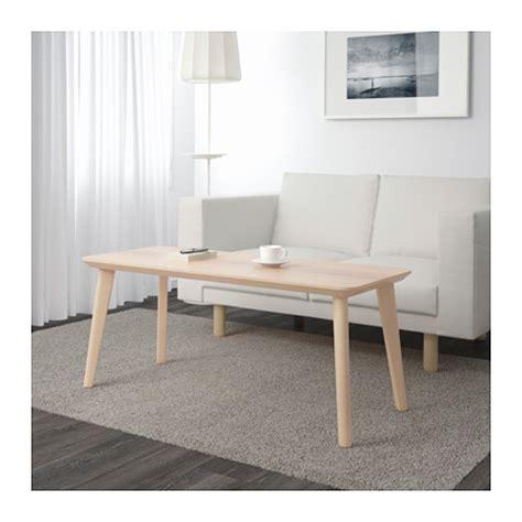 lisabo coffee table ash veneer 118x50 cm ikea