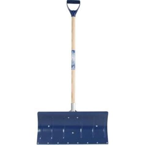 true temper 24 in aluminum snow shovel 1640000 at the