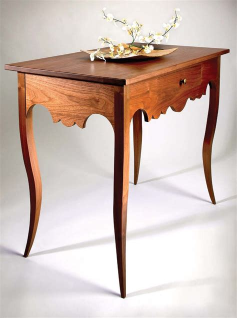 Popular Woodworking Sweepstakes 2014 - creole table free plans popular woodworking magazine