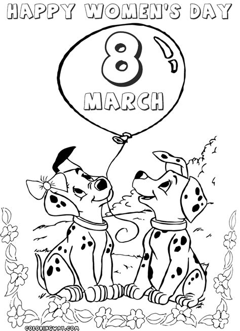 International Women S Day Coloring Pages Coloring Pages