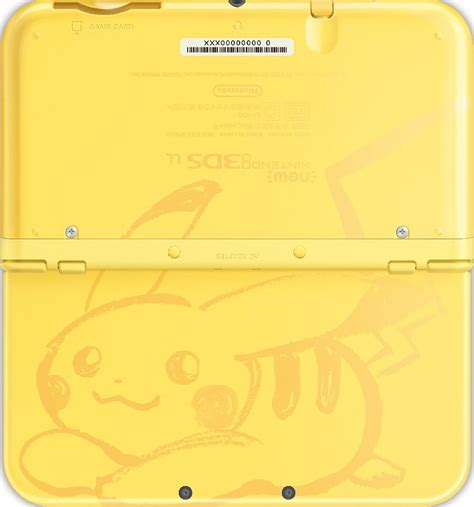 Nintendo New 3ds Xl Pikachu Limited Edition special edition pok 233 mon sun and moon new nintendo 3ds xl