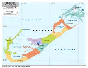 map of bermuda and united states political map of bermuda with provincial state boundaries
