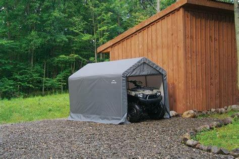 shelterlogic shelterlogic barn style portable storage shed