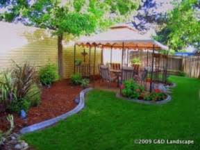 Landscaping Backyard Ideas Inexpensive Simple Backyard Landscaping Ideas On A Budget Erikhansen Info