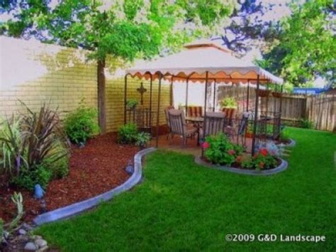 Backyard Ideas Cheap Simple Backyard Landscaping Ideas On A Budget Erikhansen Info