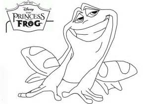 quot princess frog quot coloring pages printable
