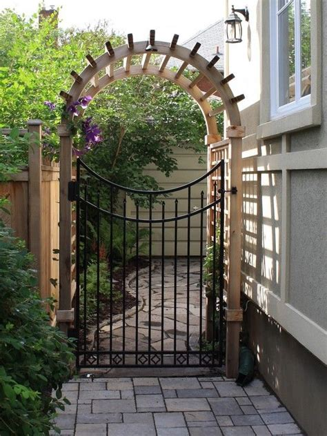 metal backyard gates basic wooden gate designs woodworking projects plans