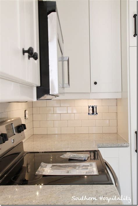 How To Install A Backsplash In The Kitchen After Silver Grout