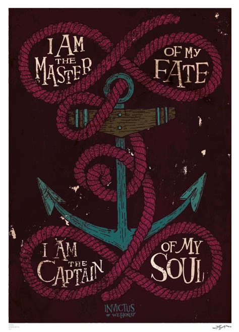 brown soul tattoos i am the captain of my soul typography poster brown word
