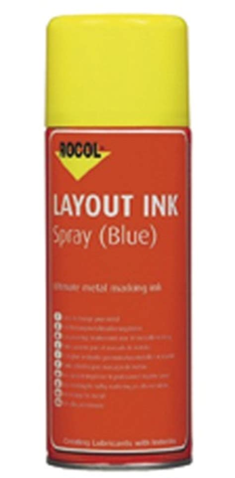 layout ink definition rocol layout ink spray blue ref 4281 163 34 61 hoses