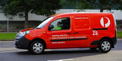 renault australia renault kangoo z e electric vans join australia post