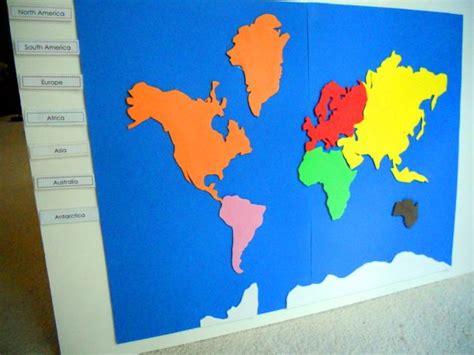 printable montessori world map project 18 make a montessori continent map foam crafts