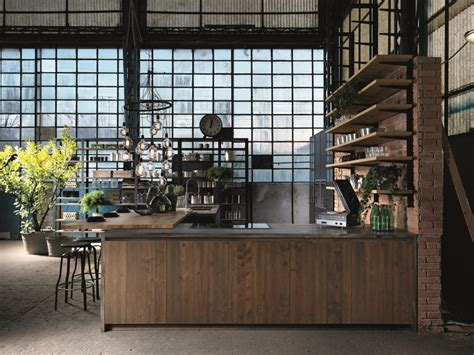 Factory Kitchen by Factory Kitchen With Peninsula Factory Collection By