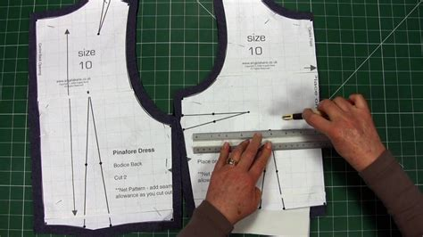 pattern making course sewing make your own clothes part 3 transfer
