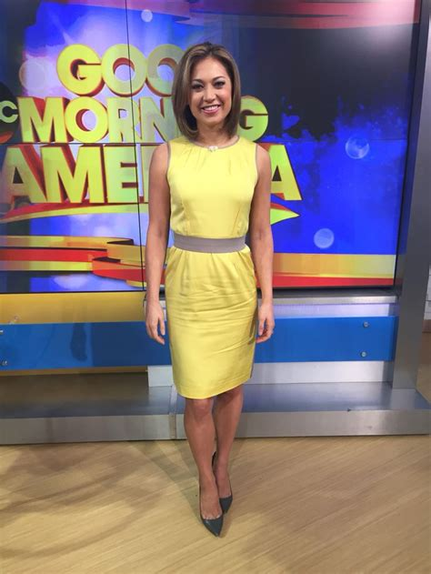 what did ginger zee wear yesterday i bought this dress at anntaylor years ago the shoes are