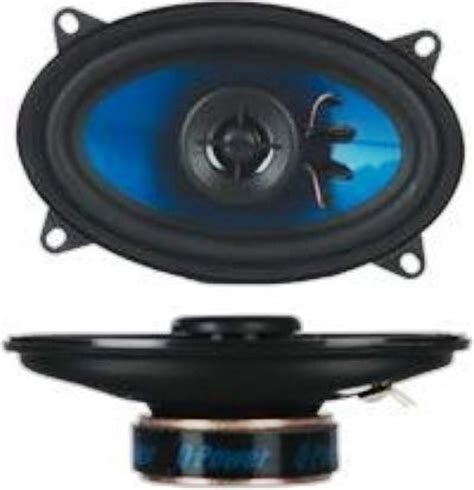 Speaker 2 Way Orchestra Blue Series q power qp 4x6 blue series car speaker 4 x 6 quot 2 way coaxial speaker 400 watts total power