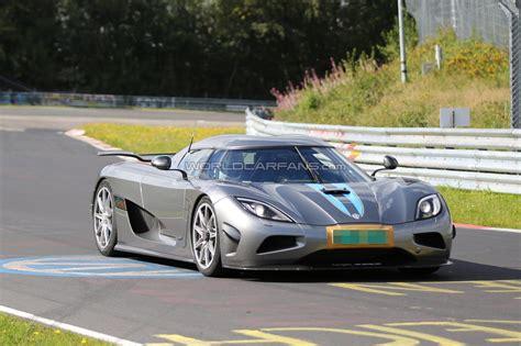 koenigsegg nurburgring koenigsegg agera r development mule on the nurburgring