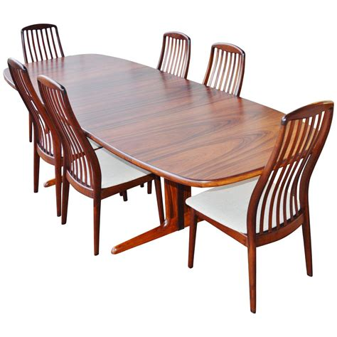 rosewood dining room furniture danish rosewood dining set by skovby at 1stdibs