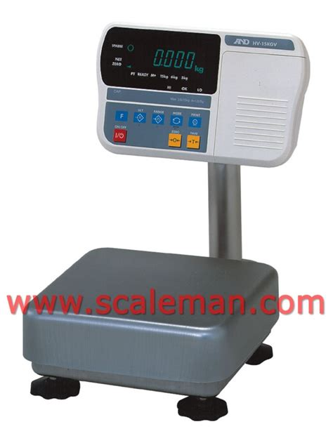 digital bench scales digital platform scale hw10kgv washdown ip65 water resistant