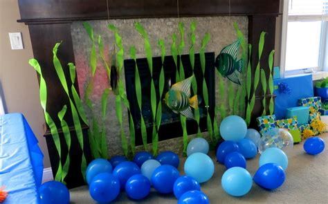 ocean birthday party design dazzle