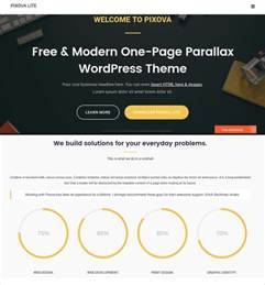 parallax wordpress template 43 free wordpress themes templates free premium