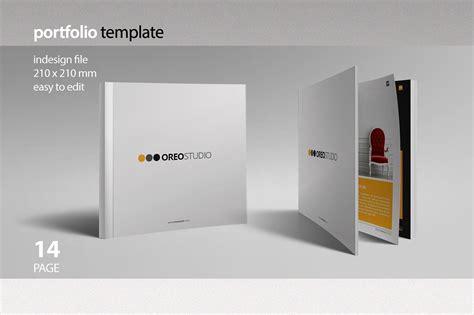 portfolio brochure template oreo portfolio template brochure templates creative market
