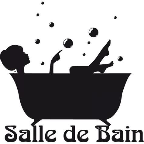 Sticker Baignoire by Sticker Baignoire Quot Salle De Bain Quot Stickers Et D 233 Cors