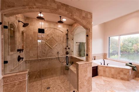 roman style house design roman style bath adds splendor to reston townhome